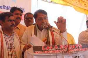 संघर्ष मोर्चा में मंत्री ने कहा वचन के पक्के हैं मुख्यमंत्री कमलनाथ