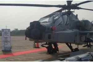 अनुच्छेद 370 को हटाने के बाद, अब IAF को मिले 8 अपाचे हेलीकॉप्टर