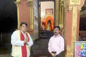 श्रीलंका में सीता मैया मंदिर में दर्शन करने पहुंचे धर्मस्व मंत्री