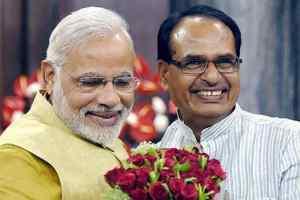 PM मोदी ने शिवराज को मुख्यमंत्री पद ग्रहण पर दी बधाई