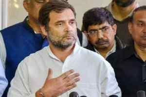 भारतीय कामगारों को वापस लाने की व्यवस्था करे सरकार : राहुलगाँधी